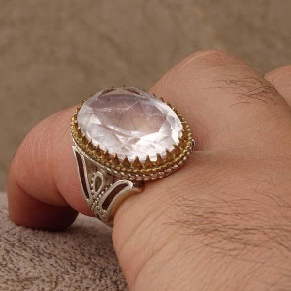 انگشتر نقره مردانه در نجفی