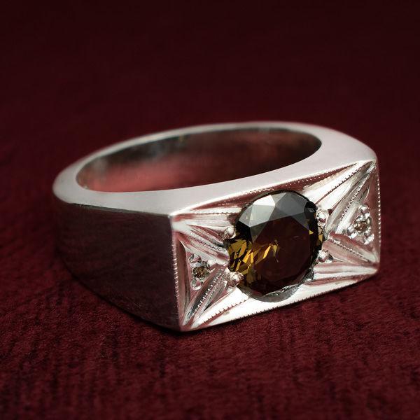 انگشتر مردانه موزنایت دست ساز